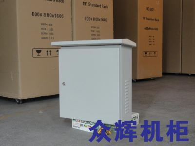 监控杆及箱体内的设备连接的步骤